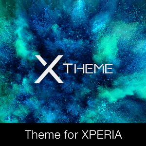 xBlack - Teal Theme for Xperia