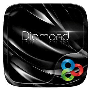 Black Diamond GO Launcher Theme