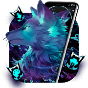 Dark Night Magic Wolf Theme