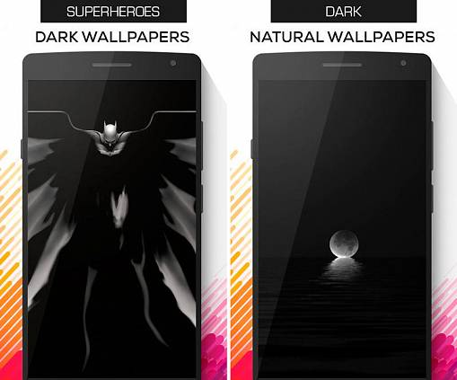 Скриншоты из Blacker: Dark&AMOLED Wallpapers