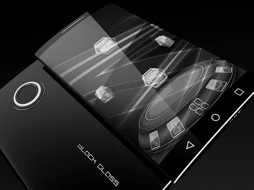 Скриншоты из Black Glass theme for Next Launcher